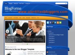 plantilla Blogforme