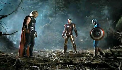 Thor, Iron Man & Captain America