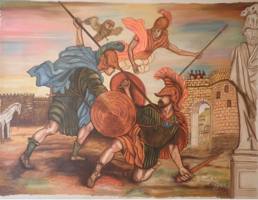 hector and achilles as moral examples of the heroic code Achilles vs hector in the iliad in the iliad, many of the male characters display heroic characteristics, consistent with the heroic warrior code of ancient greece.
