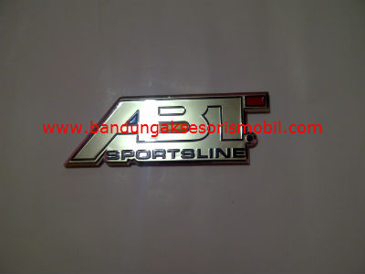 Emblem Car Logo ABT Full Chrome