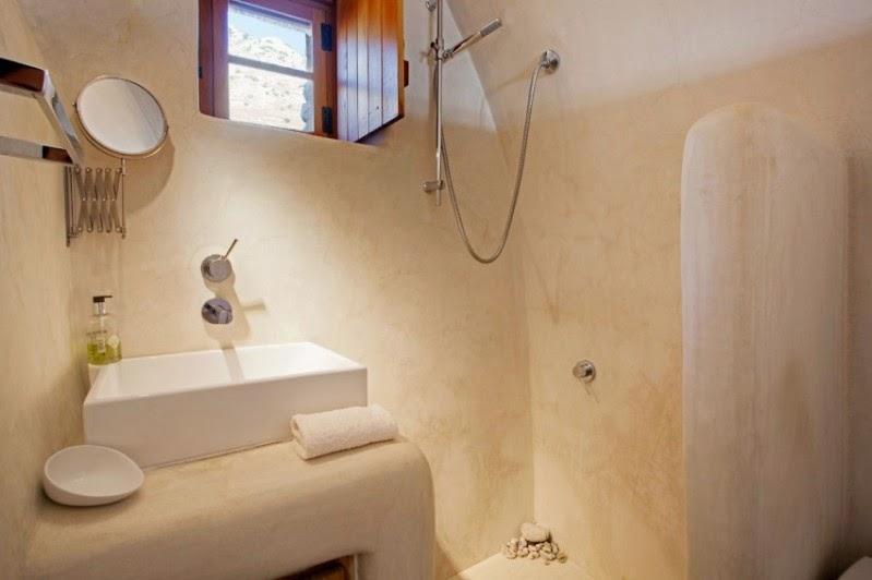 baño encalado