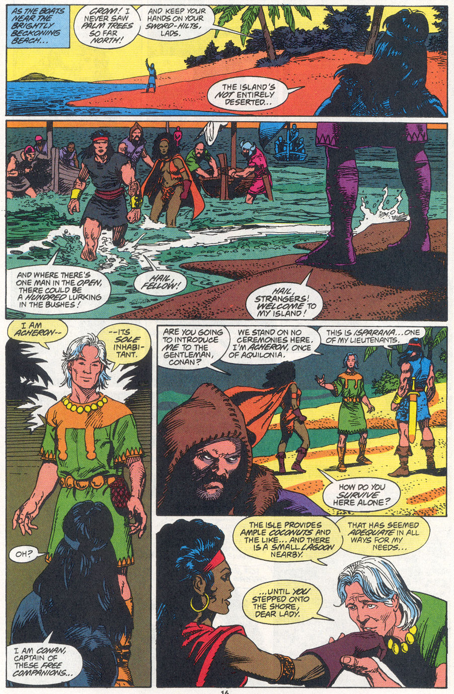 Conan the Barbarian (1970) Issue #270 #282 - English 12