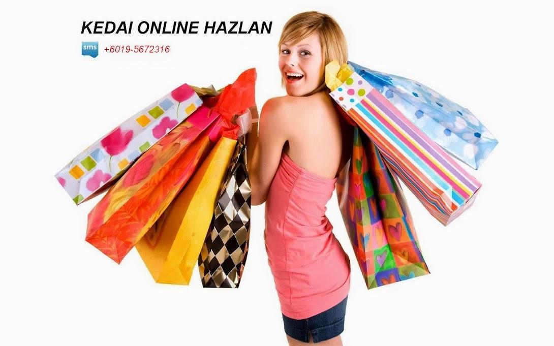 Selamat datang ke KEDAI ONLINE HAZLAN