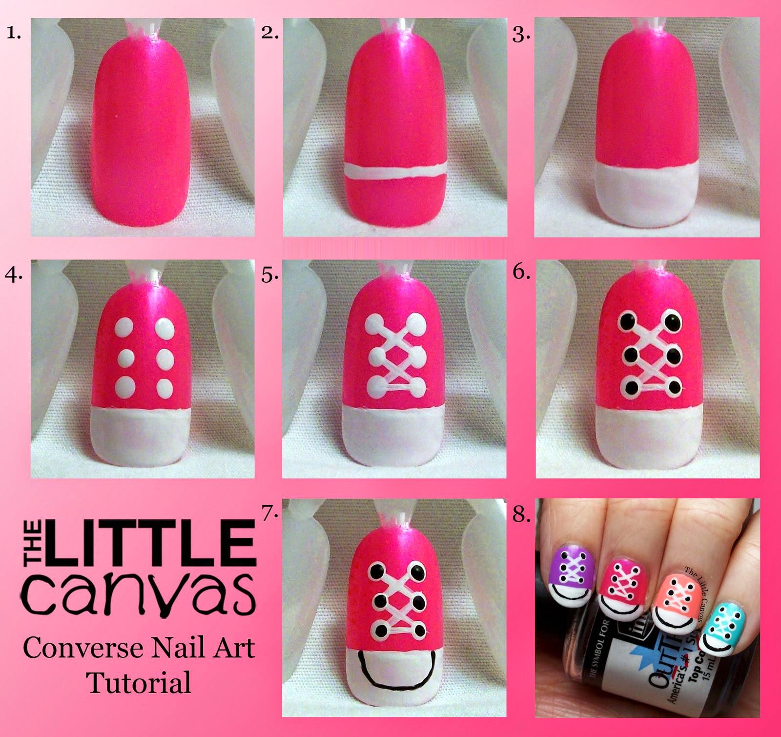 Converse Nail Art Step By Step ~ Entertainment News, Photos & Videos ...