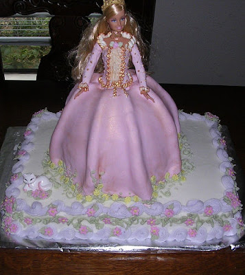 Barbie Wedding Cakes
