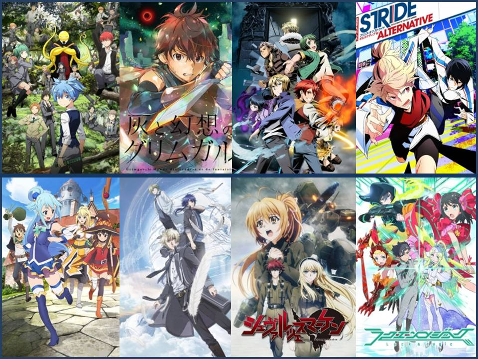 recommended top winter 2016 new anime shows you should try first