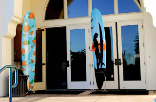 freestanding surfboard racks