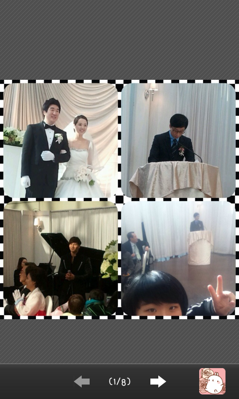 Yoo Jae Suk & Kim Jong Kook at VJ Kwon Ryul Wedding