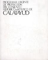 """Libro """"Programa urgente de protección del conjunto histórico-artístico de Calatayud"""""""
