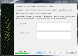 memberi password