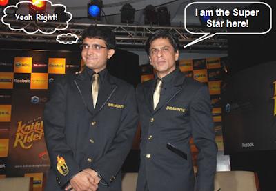 funny shahrukh ganguly Kkr