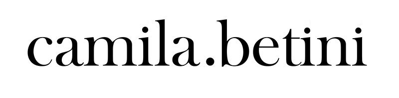 Blog Camila Betini