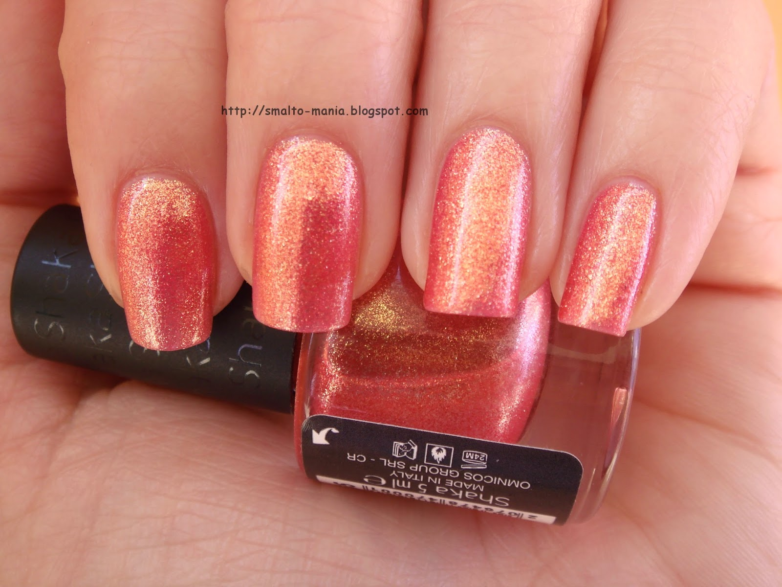 Shaka n.435 Shimmer Orange