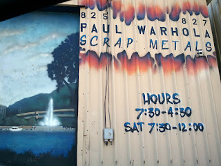 Paul Warhola Scrap metal