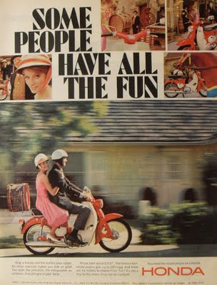 Vintage Honda Ads
