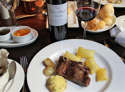 Carne tirita brangus del restaurante Rubaiyat Blog Esteban Capdevila
