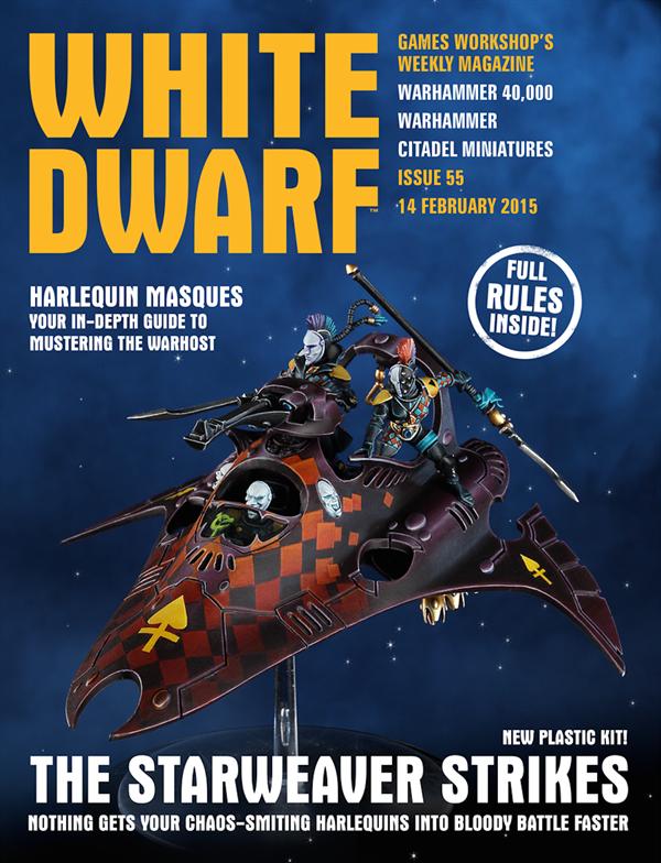 White Dwarf Weekly número 55 de febrero
