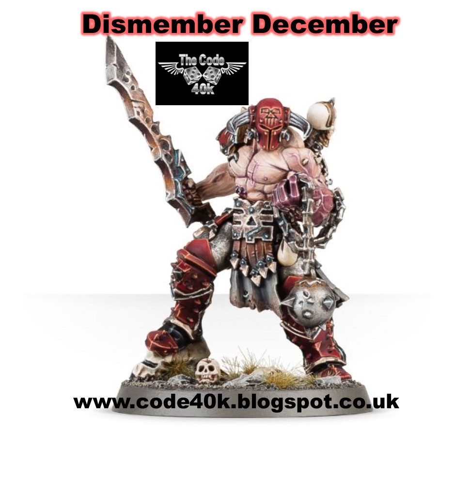 Code40k's 4th Annual December Event