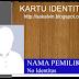 Desain IDCard ( Kartu Pengenal )
