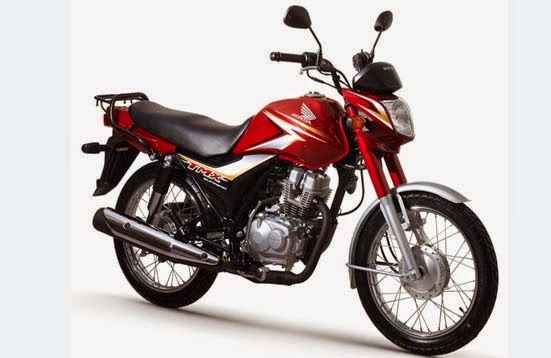 Honda TMX Supremo Candy Ruby Red