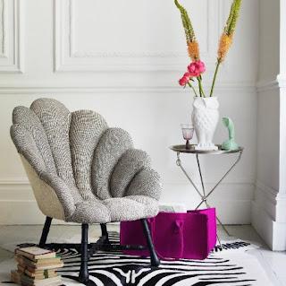 Ariel Rococo Chair Sessel von Graham & Greene