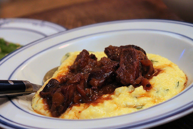 Riffin' in the Kitchen: Friday Dinner: Tuscan Pork Stew and Polenta