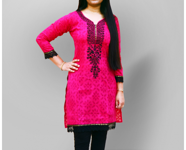 Latest Kurti Designs for Girls 2015 - glamourtalkz.blogspot.com