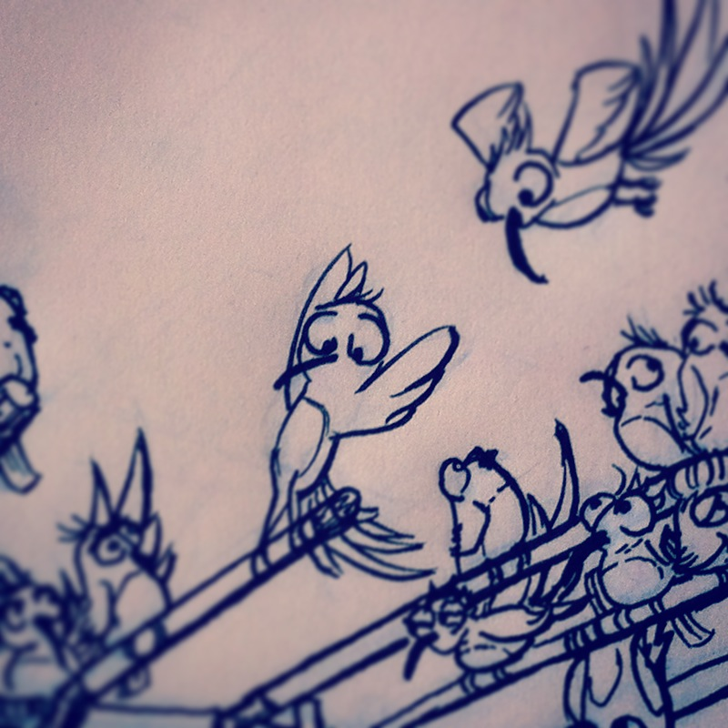 'Birdies' - Albert Casado (nfok-e) - WIP