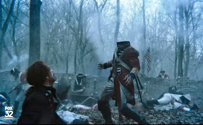 Newly headless horseman death scene Revolutionary War