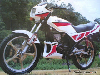 RX Z 5 SPEED   Yamaha RX
