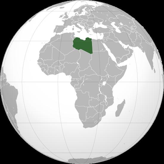 Globo Terráqueo Libia