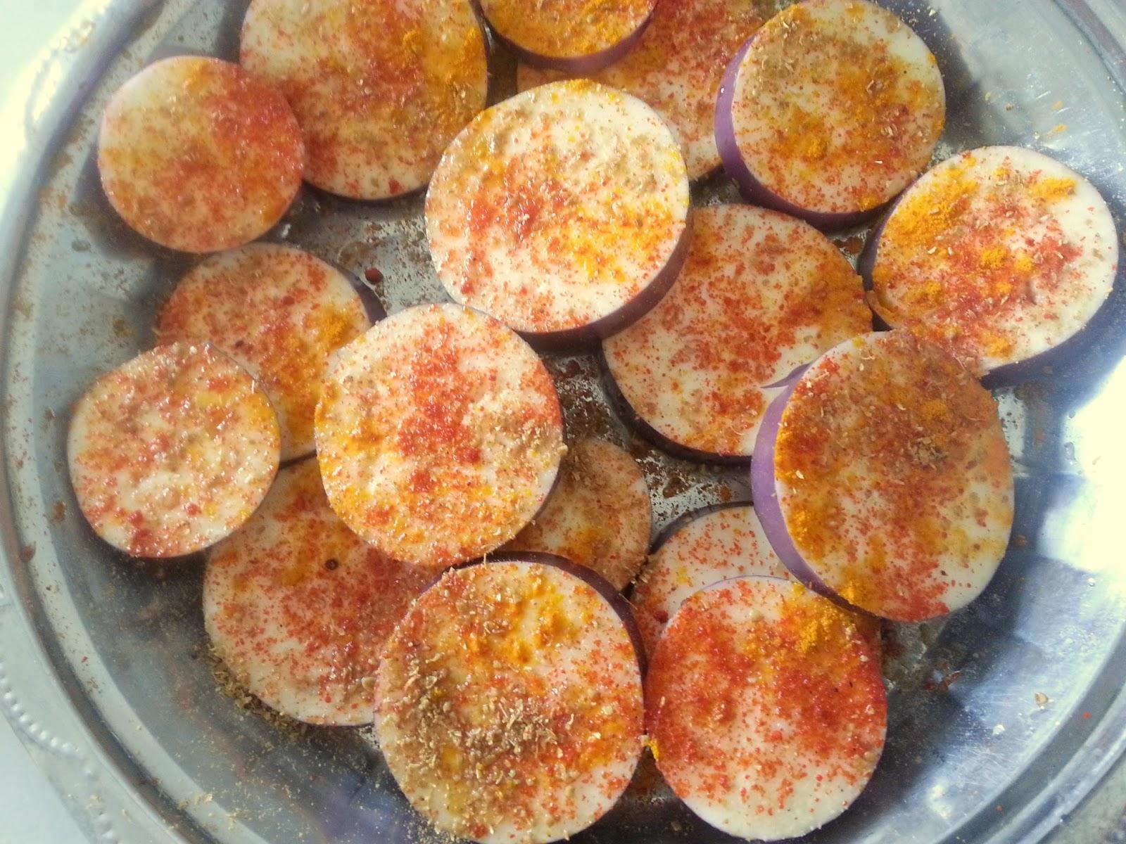 Annapurna baingan bhaja shallow fried eggplant for Annapurna cuisine