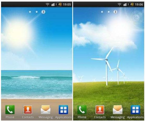 Best Android Live Wallpapers Apk For Gingerbread Samsung Galaxy S Ii