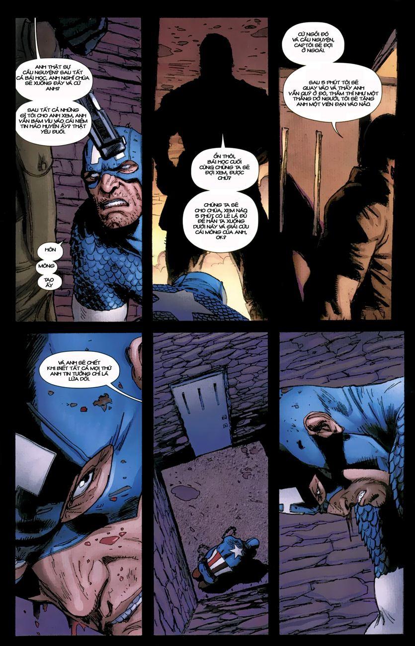 Ultimate Captain America chap 1 - Trang 8