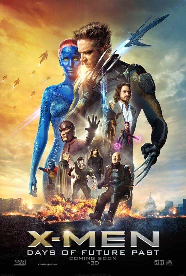Poster X-Men Días del Futuro Pasado