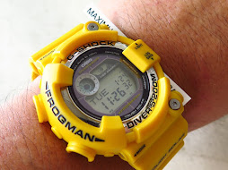 CASIO G-SHOCK FROGMAN GF-8250-9DR YELLOW - TOUGH SOLAR - PART B - RARE