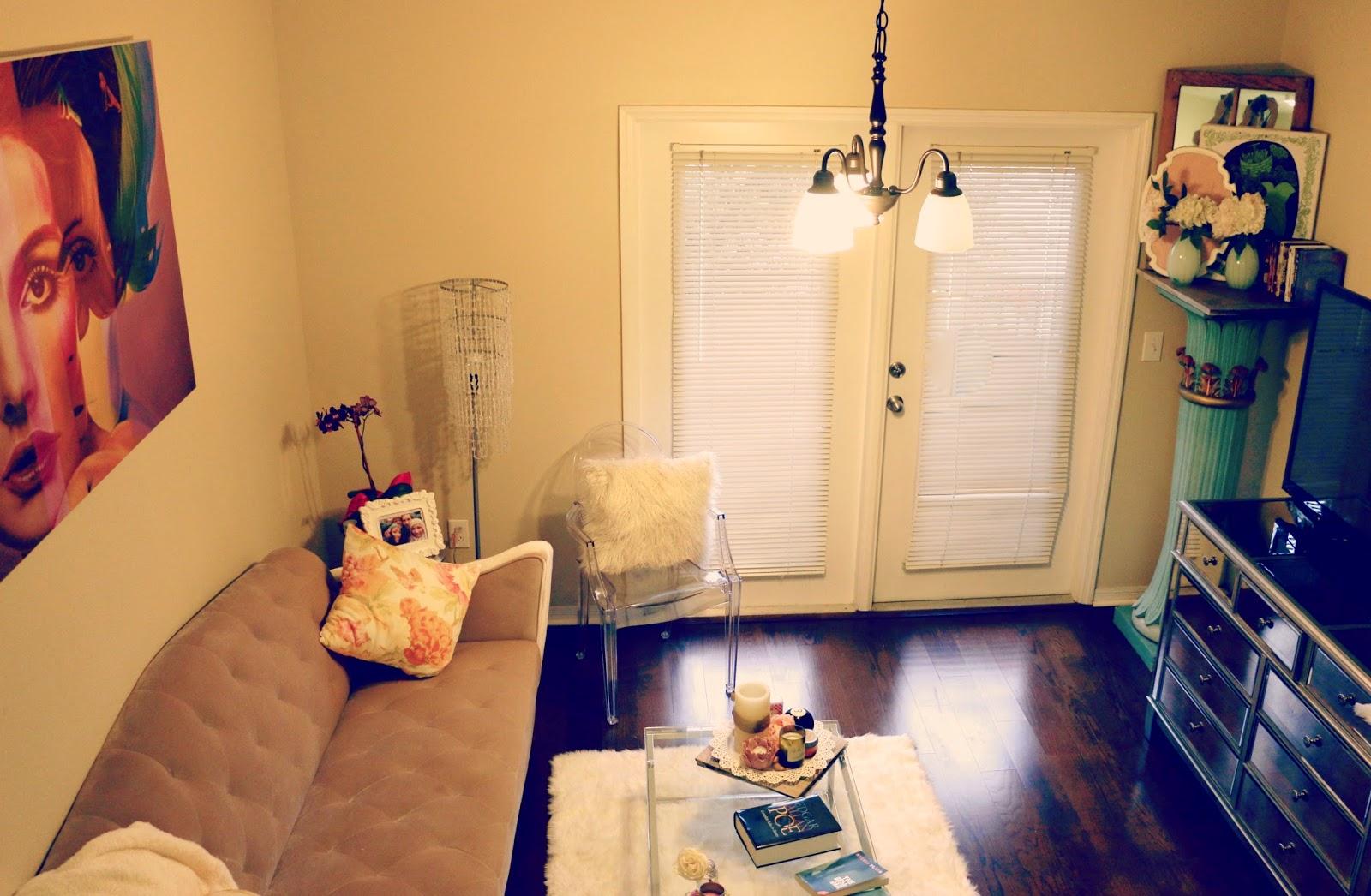 Caramel Unicorn: Living Room Decor