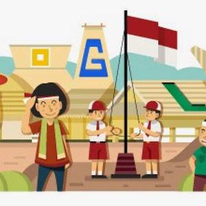 Hari Kemerdekaan Indonesia di Google Doodle