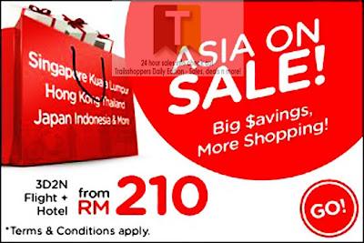 Asia on Sale AirAsiaGo
