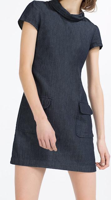 Denim Spring 2016 Zara Mini Dress