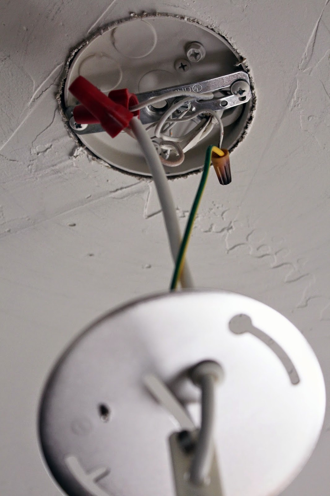 Worth Pinning: Changing Out Light Fixtures