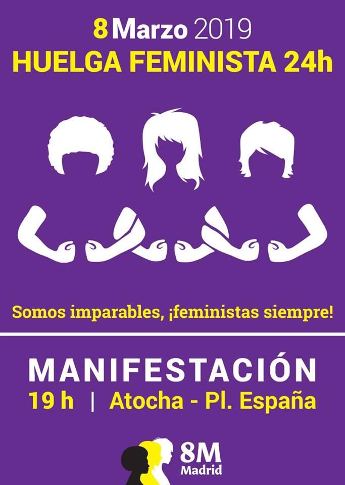 Manifestación #8M 2019 #HuelgaFeminista