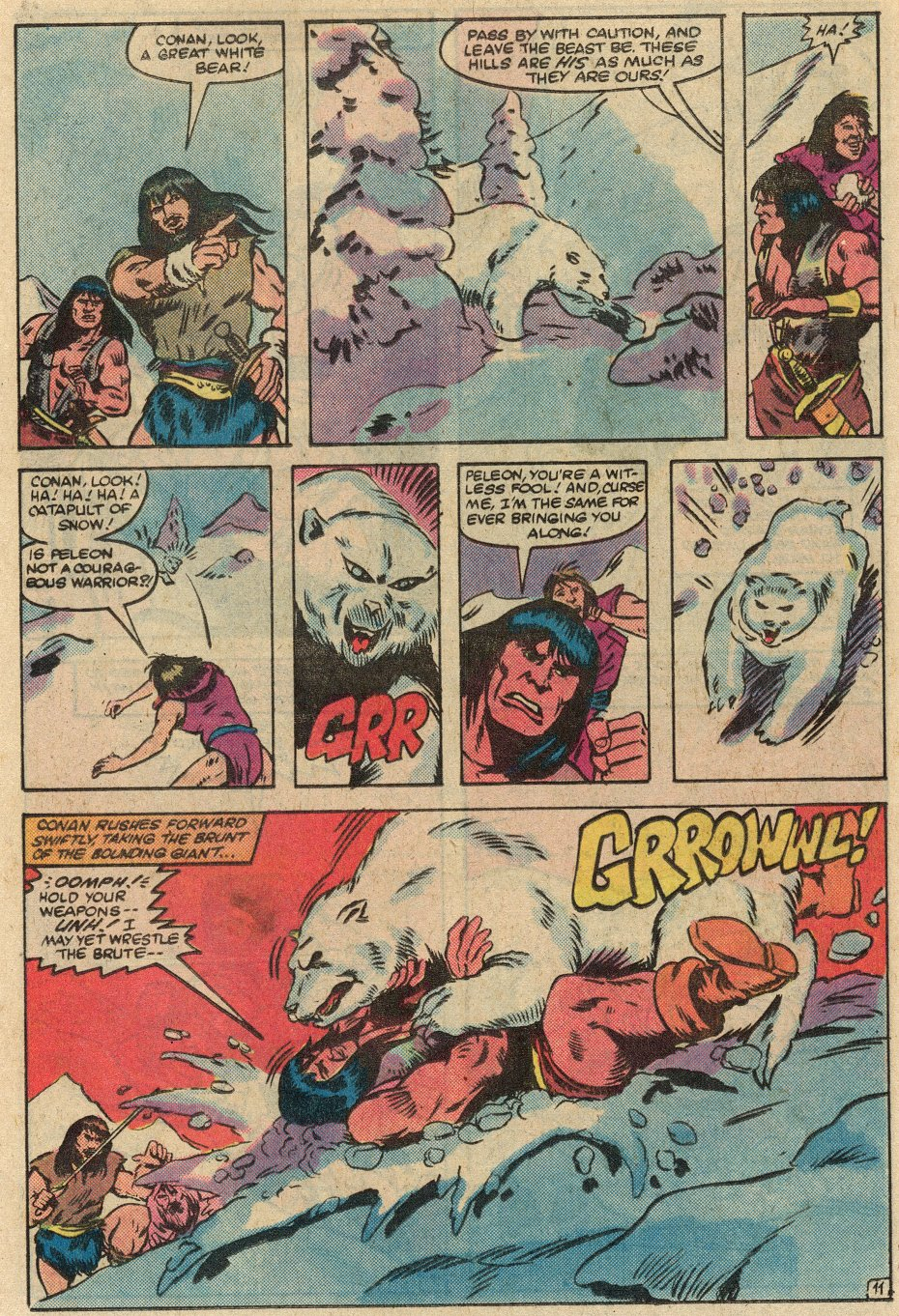Conan the Barbarian (1970) Issue #145 #157 - English 12