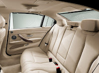 BMW 335Li (2012) Rear Seats