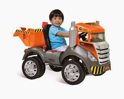 Veículo Caminhão infantil Brutos R/C-El.6vts
