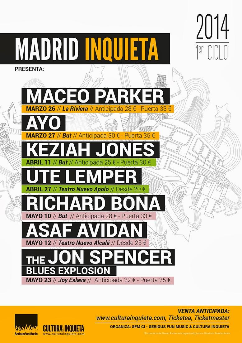 Madrid Inquieta 2014. Primer Ciclo