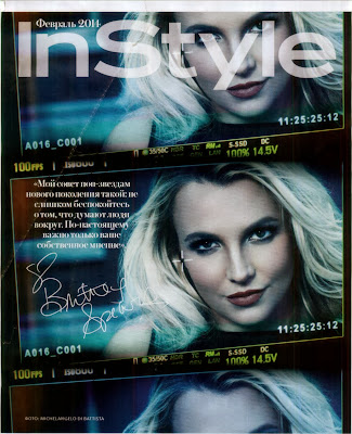 Britney Spears HQ Pictures InStyle Russia Magazine Photoshoot February 2014