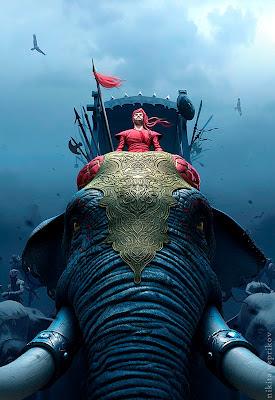 Hideen Elephant Optical Illusion