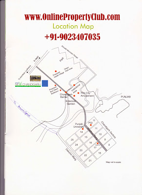 LOCATION MAP OMAXE SILVER BIRCH MULLANPUR NEW-CHANDIGARH