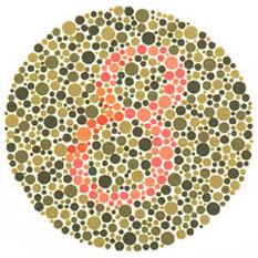 Prueba de daltonismo - Carta de Ishihara 2